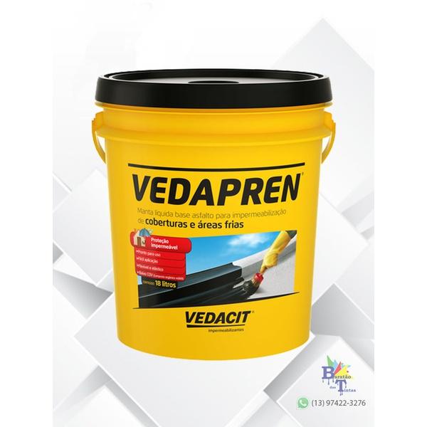 VEDAPREN PRETO 18L