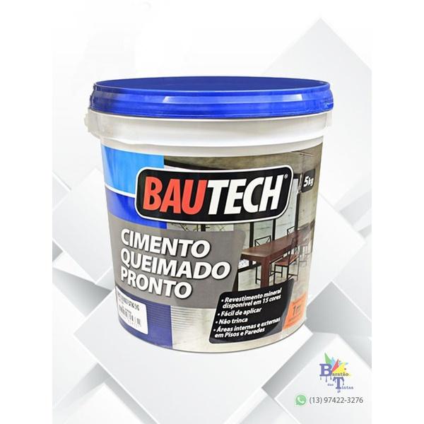 BAUTECH CIMENTO QUEIMADO AREIA 5KG