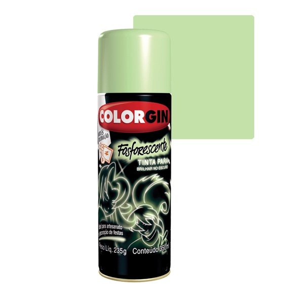 COLORGIN SPRAY FOSFORESCENTE 350ML