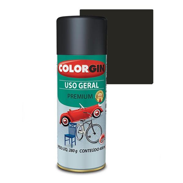 COLORGIN SPRAY USO GERAL GRAFITE MÉDIO 400ML