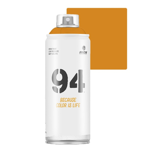 SPRAY 94 LARANJA FLUORESCENTE FOSCO MONTANA 400ML