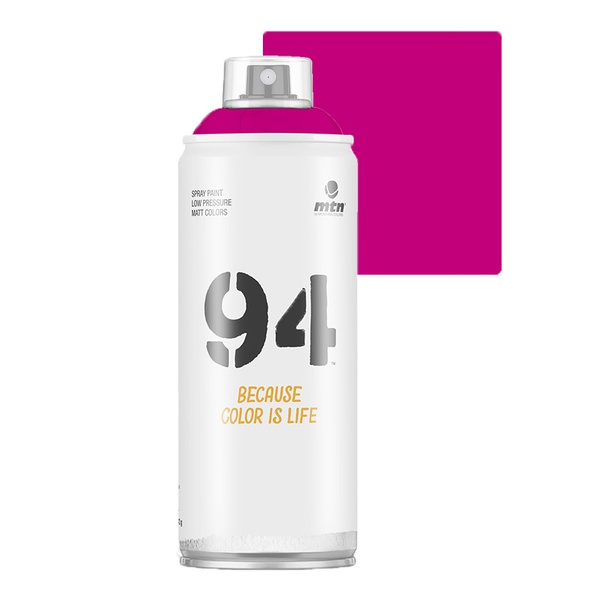 SPRAY 94 FUCHSIA FLUORESCENTE FOSCO MONTANA 400ML