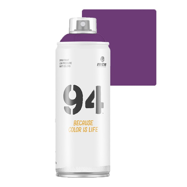 SPRAY 94 VIOLETA FLUORESCENTE FOSCO MONTANA 400ML