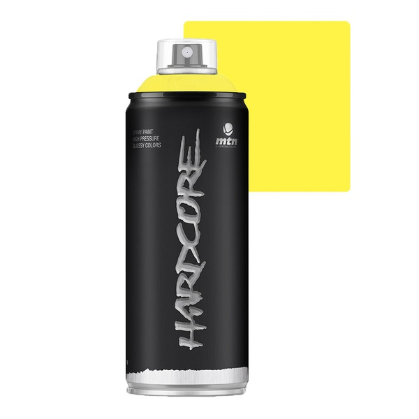 SPRAY HARDCORE AMARELO FESTA BRILHANTE RV20 MONTANA 400ML