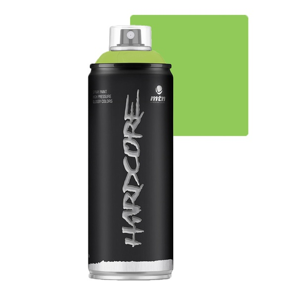 SPRAY HARDCORE VERDE PISTACHIO BRILHANTE RV16 MONTANA 400ML