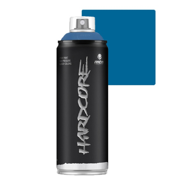 SPRAY HARDCORE AZUL ELETRICO BRILHANTE RV30 MONTANA 400ML