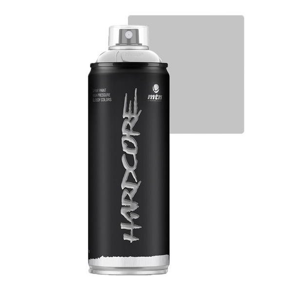 SPRAY HARDCORE PRATA CHROME BRILHANTE MONTANA 400ML