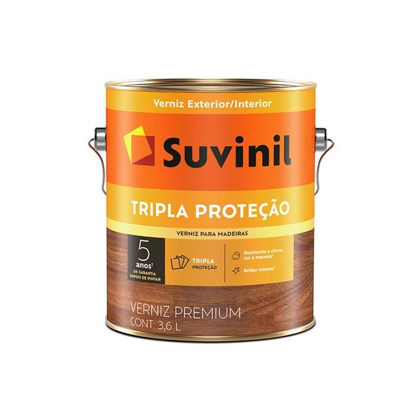 SUVINIL VERNIZ TRIPLO FILTRO SOLAR BRILHANTE NATURAL 3,6L