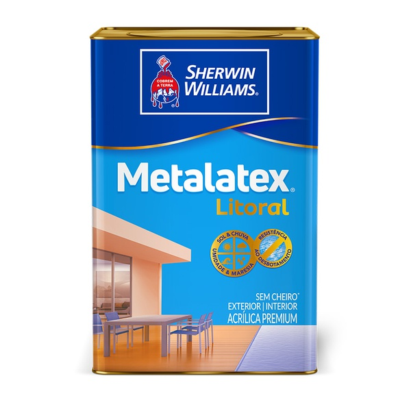 METALATEX LITORAL ACETINADO VERDE ITACARÉ 18L