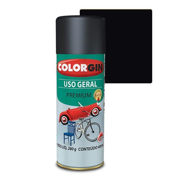 COLORGIN SPRAY USO GERAL PRETO FOSCO 400ML