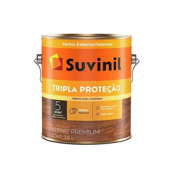 SUVINIL VERNIZ TRIPLO FILTRO SOLAR BRILHANTE IMBUIA 3,6L