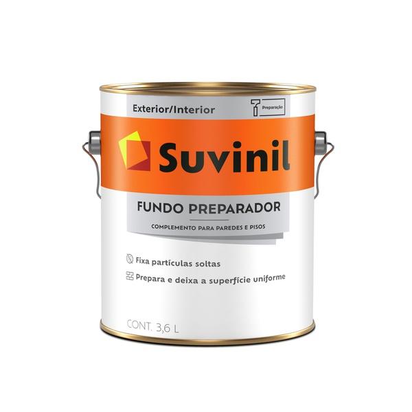 SUVINIL FUNDO PREPARADOR BASE ÁGUA 3,6L