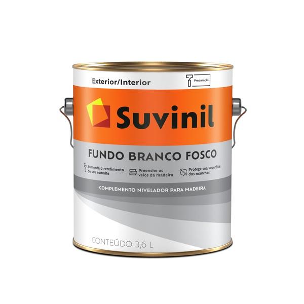 SUVINIL FUNDO BRANCO FOSCO 3,6L