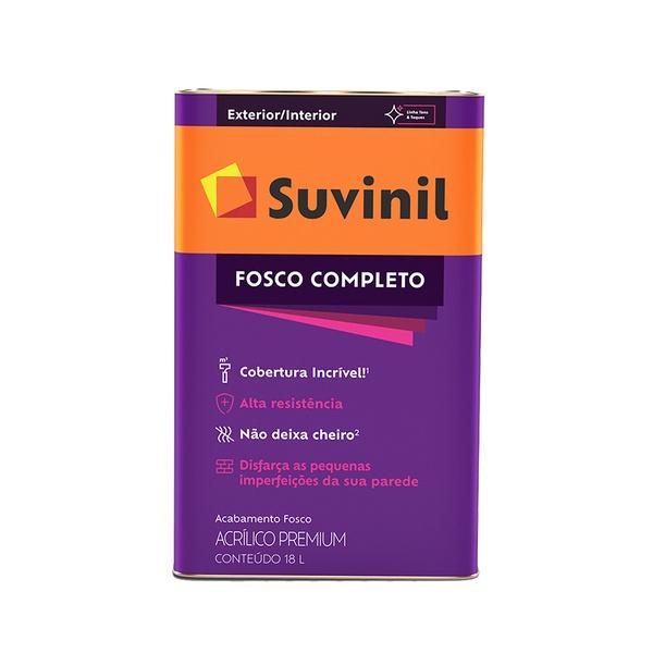 SUVINIL ACRILICO FOSCO COMPLETO PALHA 18L