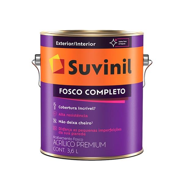 SUVINIL ACRILICO FOSCO COMPLETO TÂMARA 3,6L