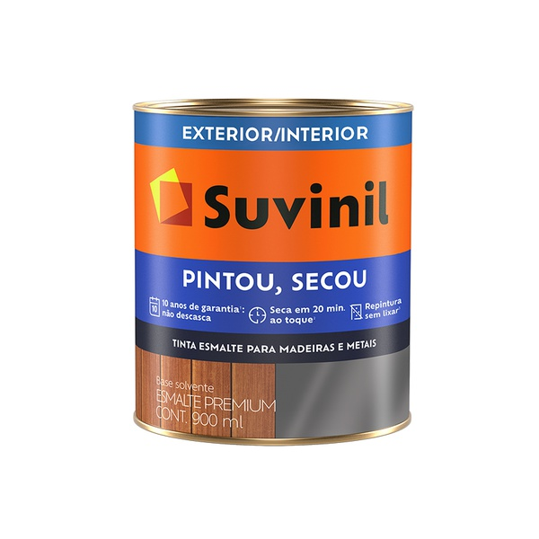 SUVINIL ESMALTE PINTOU SECOU TABACO 900ML