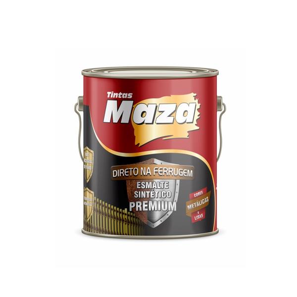 MAZA ESMALTE SINTÉTICO METÁLICO ACO CARTEN 3,6L