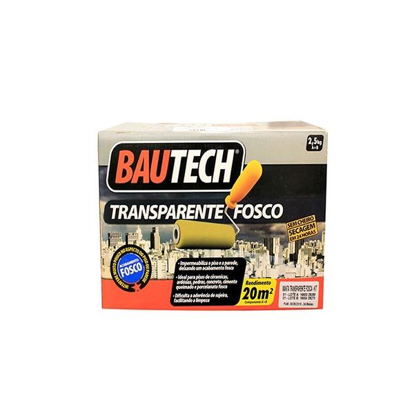 BAUTECH MANTA LÍQUIDA TRANSPARENTE FOSCO 3,5KG