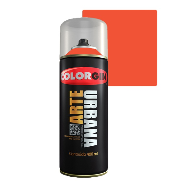 COLORGIN SPRAY ARTE URBANA LARANJA 900 400ML