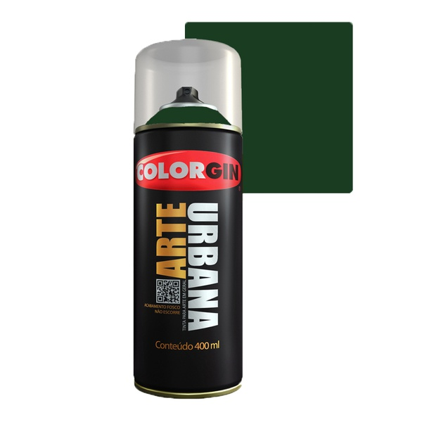 COLORGIN SPRAY ARTE URBANA VERDE AMAZONAS 987 400ML