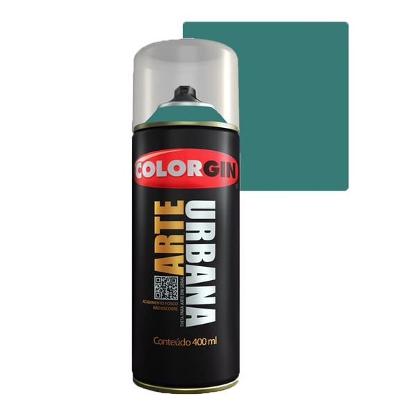 COLORGIN SPRAY ARTE URBANA VERDE NAUTICO 962 400ML