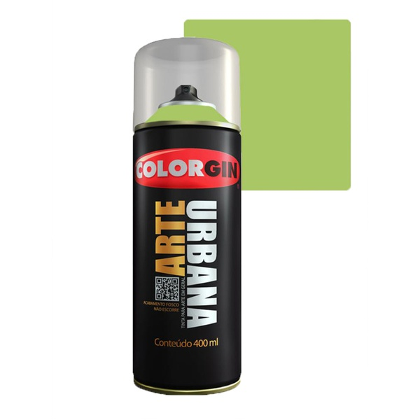 COLORGIN SPRAY ARTE URBANA VERDE NEON 905 400ML