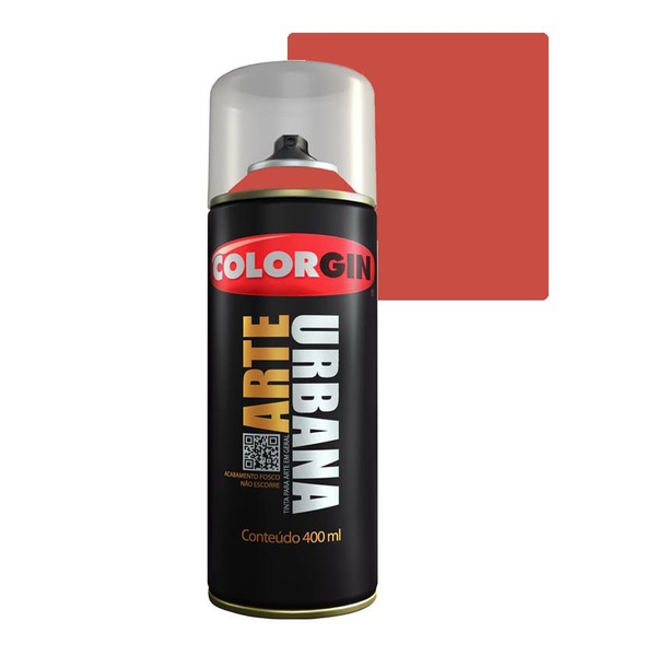 COLORGIN SPRAY ARTE URBANA LARANJA MARTE 968 400ML