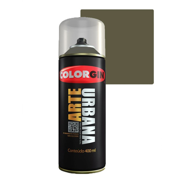 COLORGIN SPRAY ARTE URBANA VERDE MUSGO 964 400ML