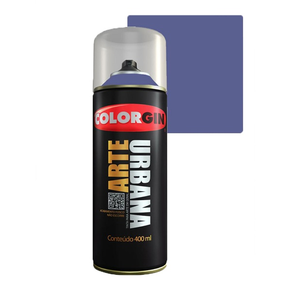 COLORGIN SPRAY ARTE URBANA VIOLETA 936 400ML