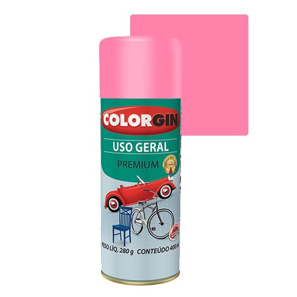 COLORGIN SPRAY USO GERAL ROSA BIKE 400ML