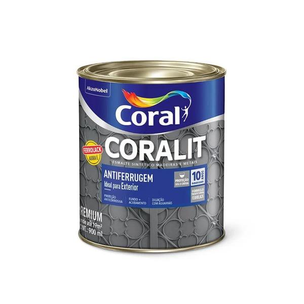 CORAL ESMALTE FERROLACK BRANCO 900ML