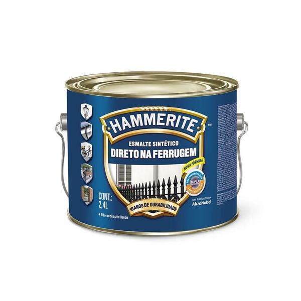 CORAL ESMALTE HAMMERITE CINZA 2,4L