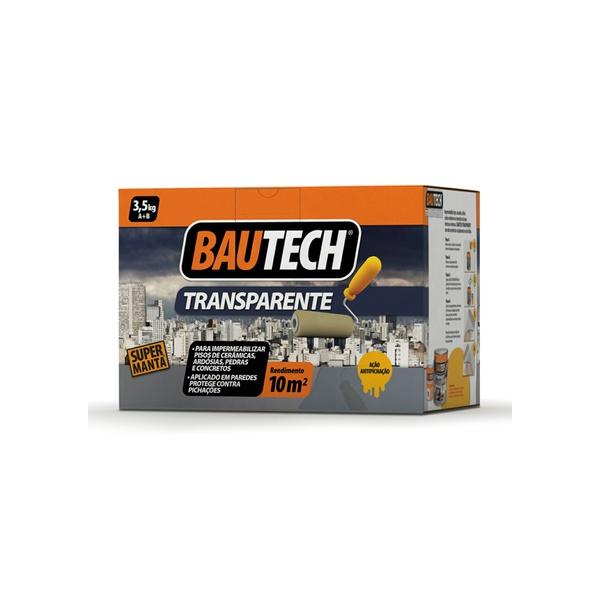 BAUTECH MANTA LÍQUIDA TRANSPARENTE BRILHANTE 3,5KG