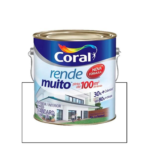 CORAL RENDE MUITO FOSCO BRANCO 3,6L