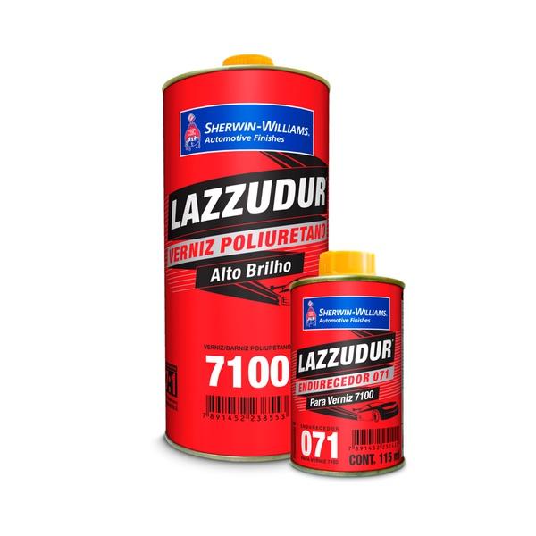 VERNIZ PU 7100 COM CATALISADOR LAZZURIL