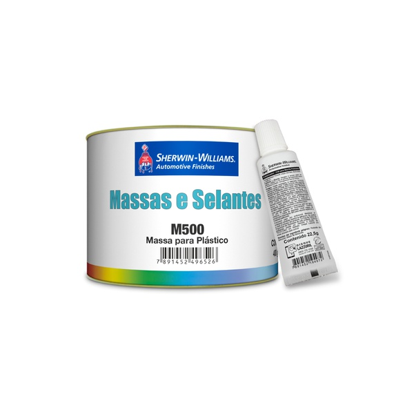 MASSA PARA PLÁSTICO LAZZURIL 400GR