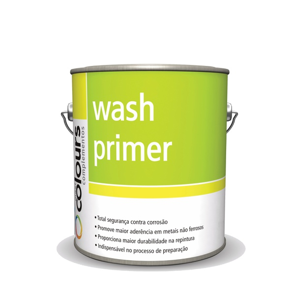 WASH PRIMER SEM CATALISADOR MAXI RUBBER 2,4L