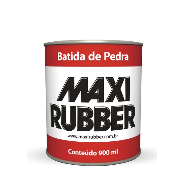 BATIDA DE PEDRA BRANCO MAXI RUBBER 900ML
