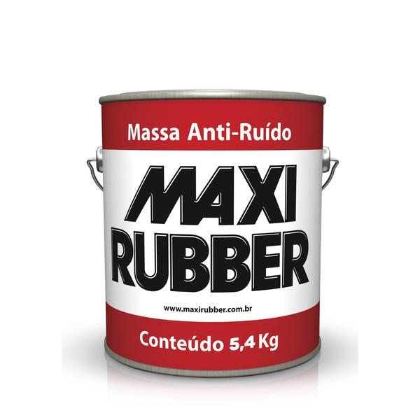 MASSA ANTI-RUÍDO MAXI RUBBER 5,4KG