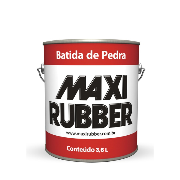 BATIDA DE PEDRA PRETO MAXI RUBBER 3,6L