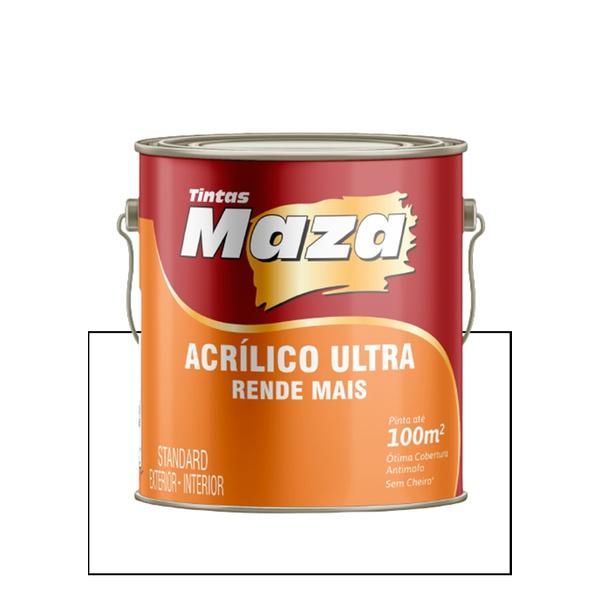 MAZA ACRÍLICO ULTRA BRANCO 3,6L