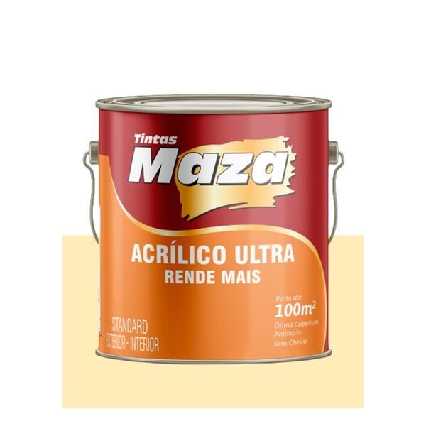 MAZA ACRÍLICO ULTRA PALHA 3,6L