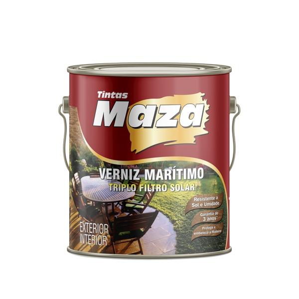 MAZA VERNIZ MARÍTIMO BRILHANTE NATURAL 3,6L