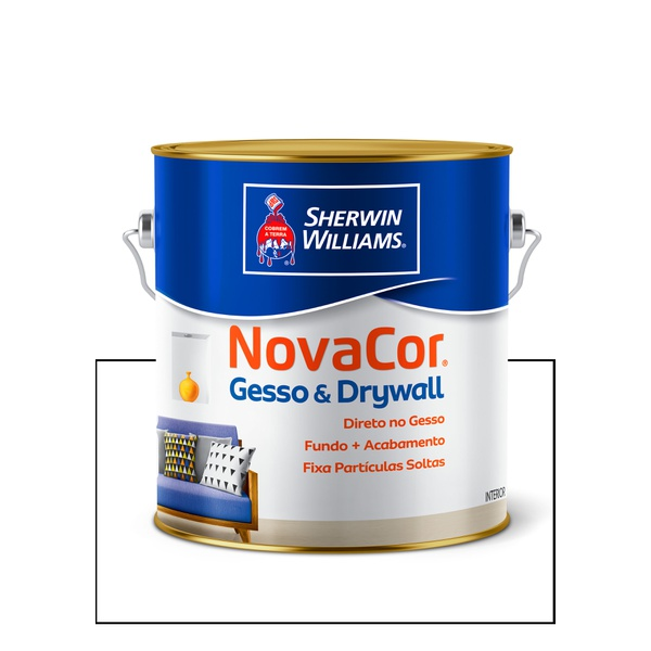 SHERWIN WILLIAMS NOVACOR GESSO E DRYWALL 3,6L
