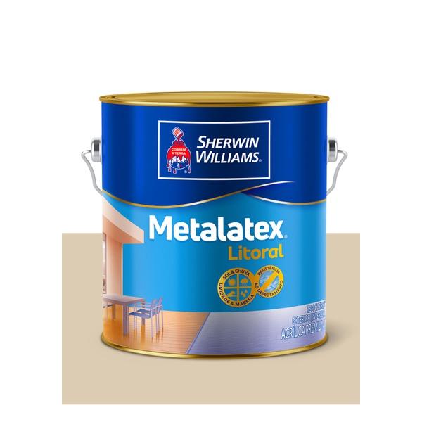 METALATEX LITORAL ACETINADO AREIA GENIPABU 3,6L