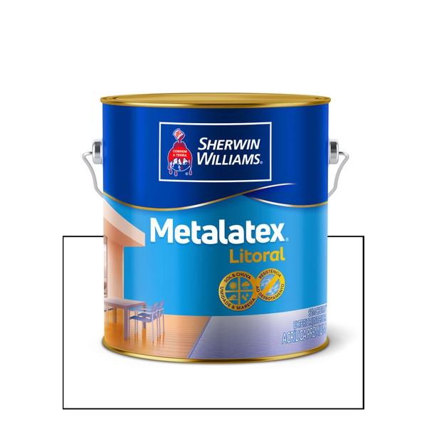 METALATEX LITORAL ACETINADO BRANCO 3,6L