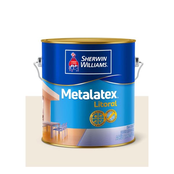 METALATEX LITORAL ACETINADO PALHA ITAÚNAS 3,6L