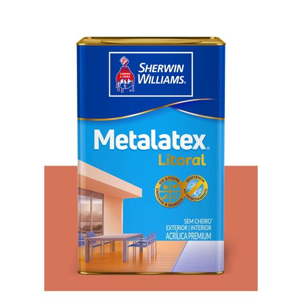 METALATEX LITORAL ACETINADO TERRACOTA 18L