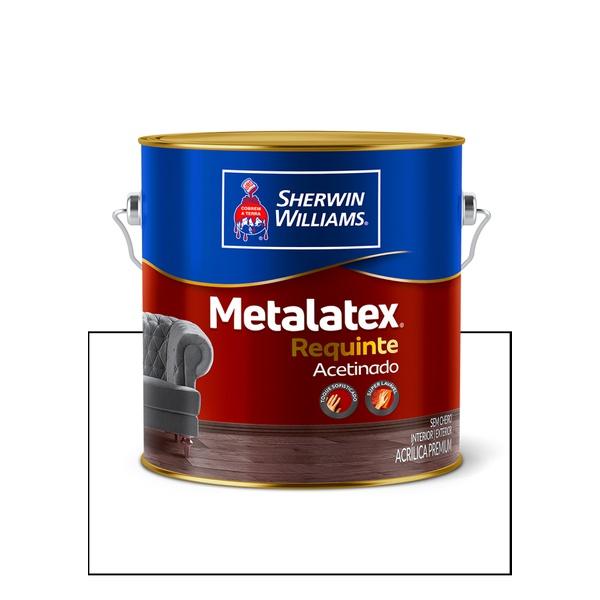 METALATEX REQUINTE ACETINADO BRANCO 3,6L