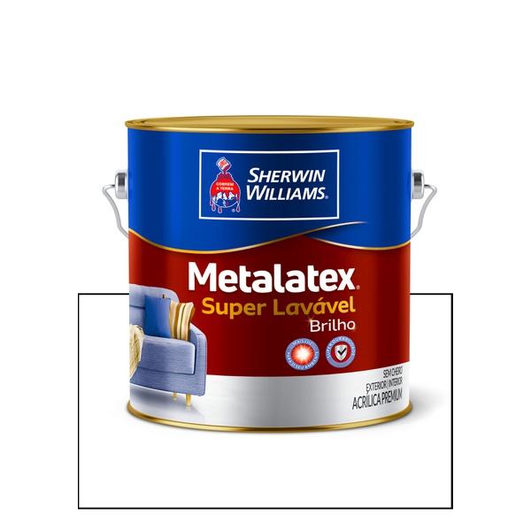 METALATEX ACRÍLICO SEMIBRILHO BRANCO 3,6L